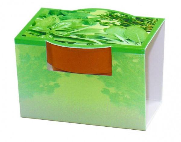 Tontöpfchen Kräuter, Kräutermischung, 1-4 c Digitaldruck inklusive