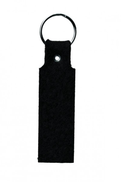 Wollfilz-Schlaufe Rechteck (Filzstärke: 3 mm) - optional mit Siebdrucktransfer