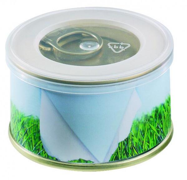 Mini Garten Gras ohne Magnet, Ø 73 x 38 mm, 1-4 c Digitaldruck inklusive