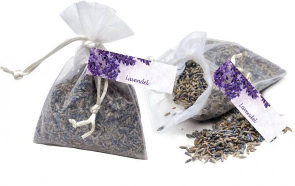 Lavendel-Beutel, 1-4 c Digitaldruck inklusive