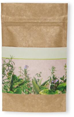 Natur Bag Kräuter, Kräutermischung, 1-4 c Digitaldruck inklusive