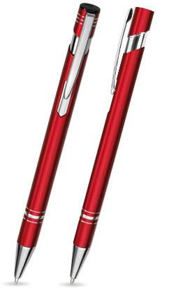 LANDO in Rot - Metallkugelschreiber, inkl. Gravur mit Namen bedruckt
