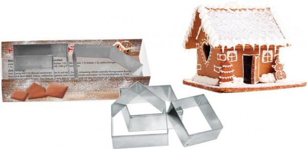 Pfefferkuchenhäuschen, 1-4 c Digitaldruck inklusive