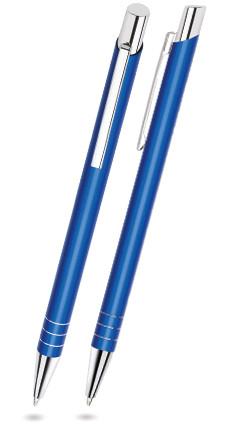 LARA in Blau - Metallkugelschreiber, inkl. Gravur mit Namen bedruckt