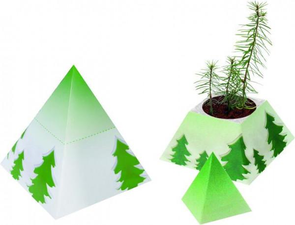 Weihnachts-Pyramide, Fichte, 1-4 c Digitaldruck inklusive